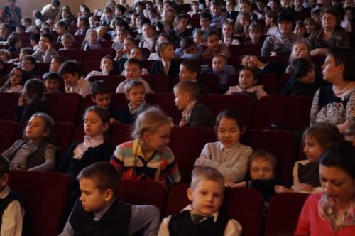 Концерт для МОУ СОШ №3