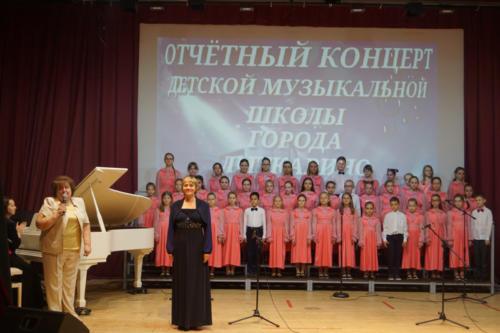 Отчетный концерт детской музыкальной школы. 2021 г.